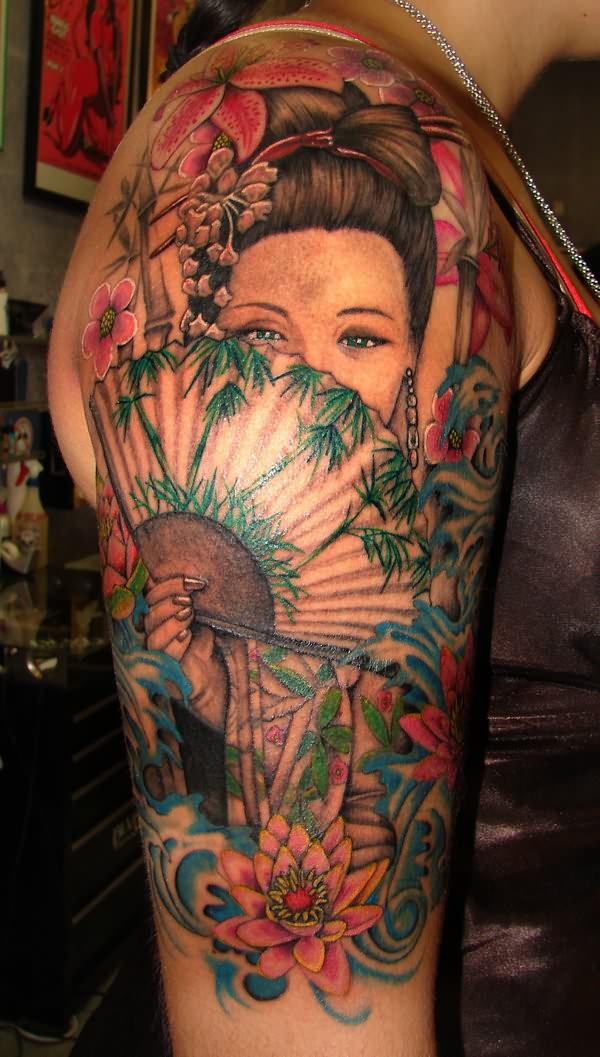 geisha,tattoo,4