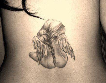 Tatuaggio Angelo Custode Significato E Immagini Passionetattoo