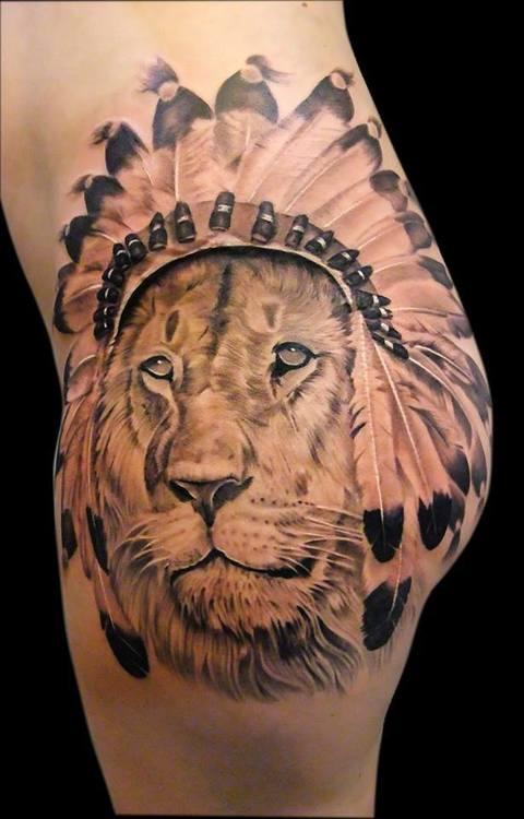 Souvent Tatuaggio Leone: significato, simbologia e galleria di immagini  BG83