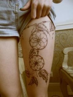 Tatuaggio acchiappasogni disegno pictures to pin on for Acchiappasogni disegno