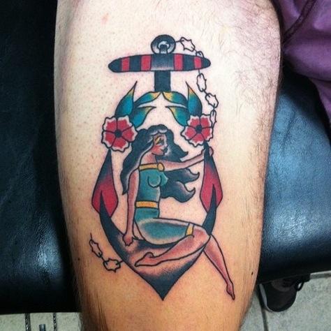 Super Tatuaggio Ancora: storia, significato ed immagini - PassioneTattoo XT78