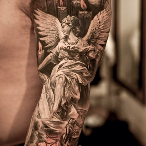 Tatuaggi con Angeli - PassioneTattoo: http://passionetattoo.it/category/tatuaggi-angeli