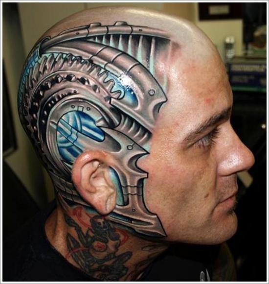 Tatuaggi Biomeccanici Significato E Foto Passionetattoo