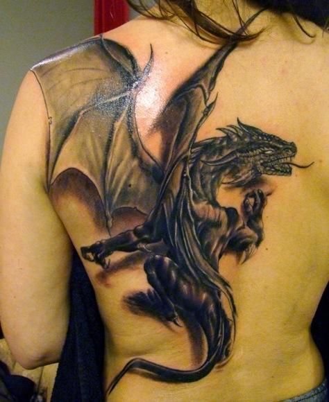 Tatuaggio Con Drago Significato Storia Ed Immagini Passionetattoo