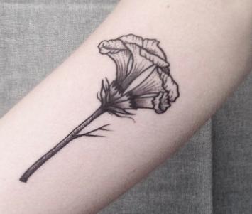 Tatuaggi Fiori Stilizzati I Disegni Più Belli Passionetattoo
