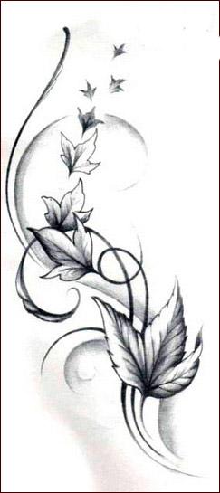 Tatuaggi con fiori tanti disegni floreali per il tuo corpo for Fiori stilizzati colorati