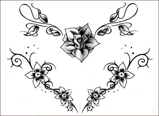 Préférence Tatuaggi con Fiori: Tanti disegni Floreali per il tuo Corpo EL17