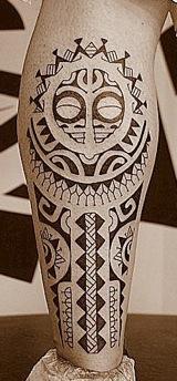 tatuaggi maori al polpaccio galleria e significato passionetattoo. Black Bedroom Furniture Sets. Home Design Ideas