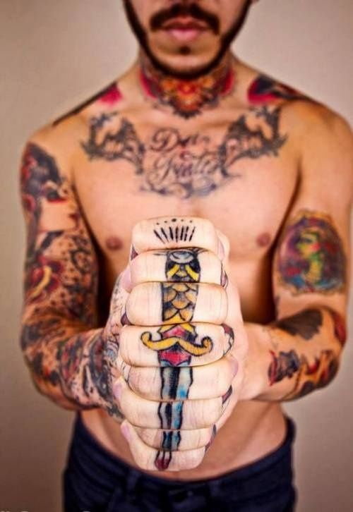 Favoloso Tatuaggi belli maschili: idee originali ed immagini - PassioneTattoo QP56