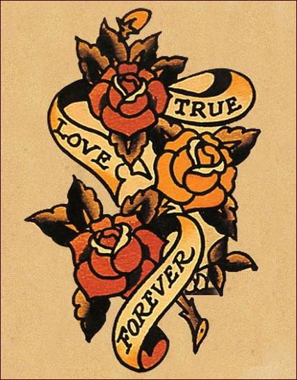 Tatuaggi old school il significato e le immagini pi belle for Old school female tattoos
