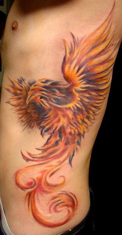 Molto Tatuaggio fenice: significato e galleria di immagini - PassioneTattoo SD34