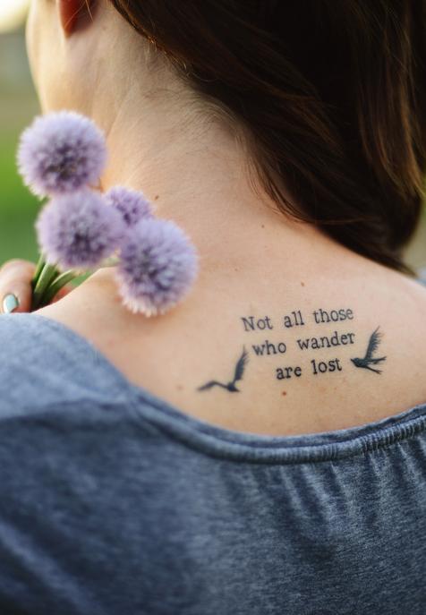 Tatuaggi piccoli con scritte foto significati e idee for Tattoos for lost loved ones quotes