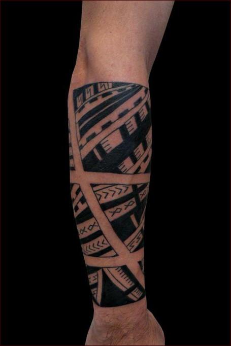 Favorito Tatuaggi Polinesiani: Origini, Storia e Galleria - PassioneTattoo NQ31