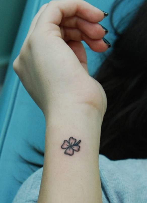 Tatuaggio Quadrifoglio Significato E Immagini Passionetattoo