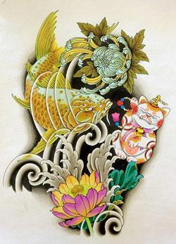 Bozza tatuaggio giapponese