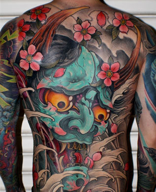 Tatuaggio giapponese total body