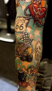 Tattoo al braccio