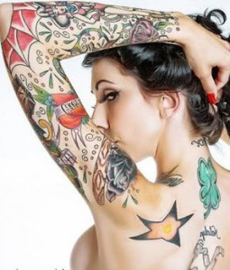 Tattoo di una ragazza