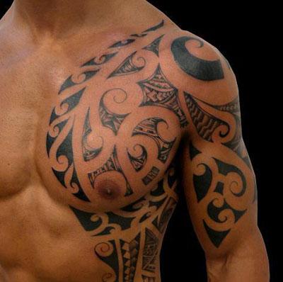 Tatuaggio sul petto
