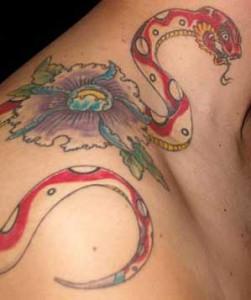 Tatuaggio serpente giapponese