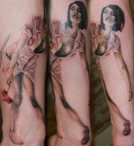 Tatuaggi old school pin up: significato e foto