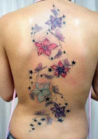 Tatuaggio spina dorsale