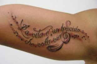 Tatuaggio sul braccio