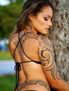 Tattoo Maori femminile