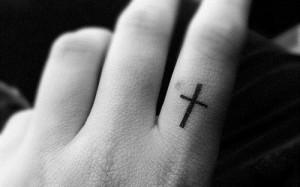tattoo croce