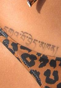 Piena d'amore tattoo Rihanna