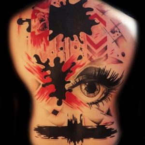 Tatuaggi trash polka