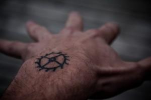Tatuaggio piccolo maschile