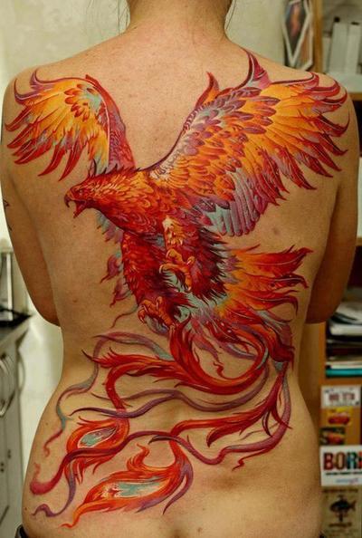 Popolare Tatuaggio araba fenice: guida al significato - PassioneTattoo GA16