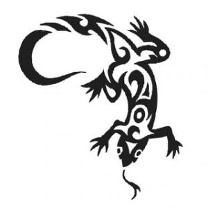 tatuaggio lucertola