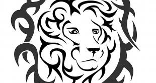 leone calmo tribale