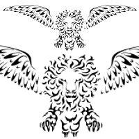 tribale leone san Marco