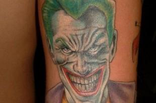 il joker nei tatuaggi