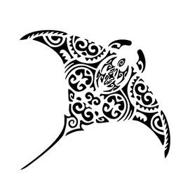4c13d679a Hai deciso per un tatuaggio maori e hai preso in considerazione l'idea di  farti proprio una manta? Molte persone hanno preso la tua stessa decisione.