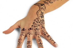 tatuaggio all'Hennè per matrimonio islamico
