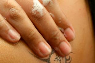 tatuaggio sbiadito