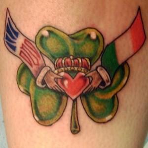 simboli Irlanda tattoo