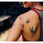 tattoo farfalle