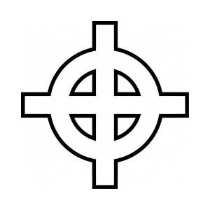 croce celtica tatuaggio