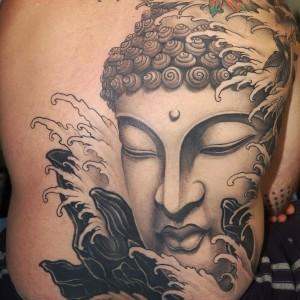 tatuaggio buddha