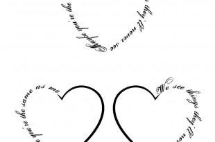 cuore tatuaggio