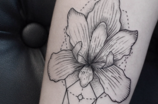 tattoo orchidea