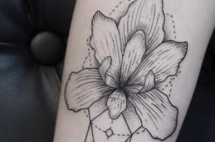 tattoo orchidea
