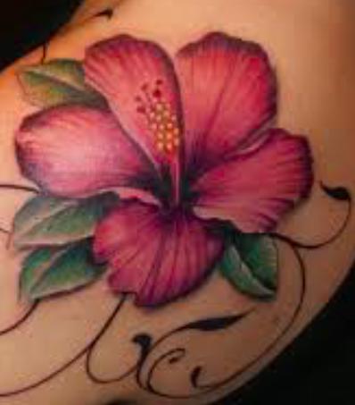 Fiori Hawaiani Tattoo.Tatuaggio Hibiscus Significato Simbolo Ed Immagini Passionetattoo