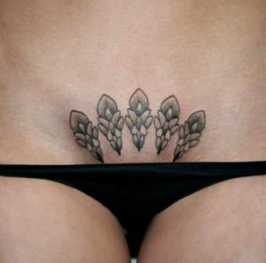 tatuaggio pube