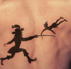 Tatuaggio peter pan significato idee e immagini passionetattoo peter pan tattoo altavistaventures Gallery